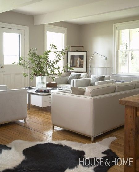Three Homes With A Contemporary Twist On Rustic Design: 3 Fav Benjamin Moore Taupes