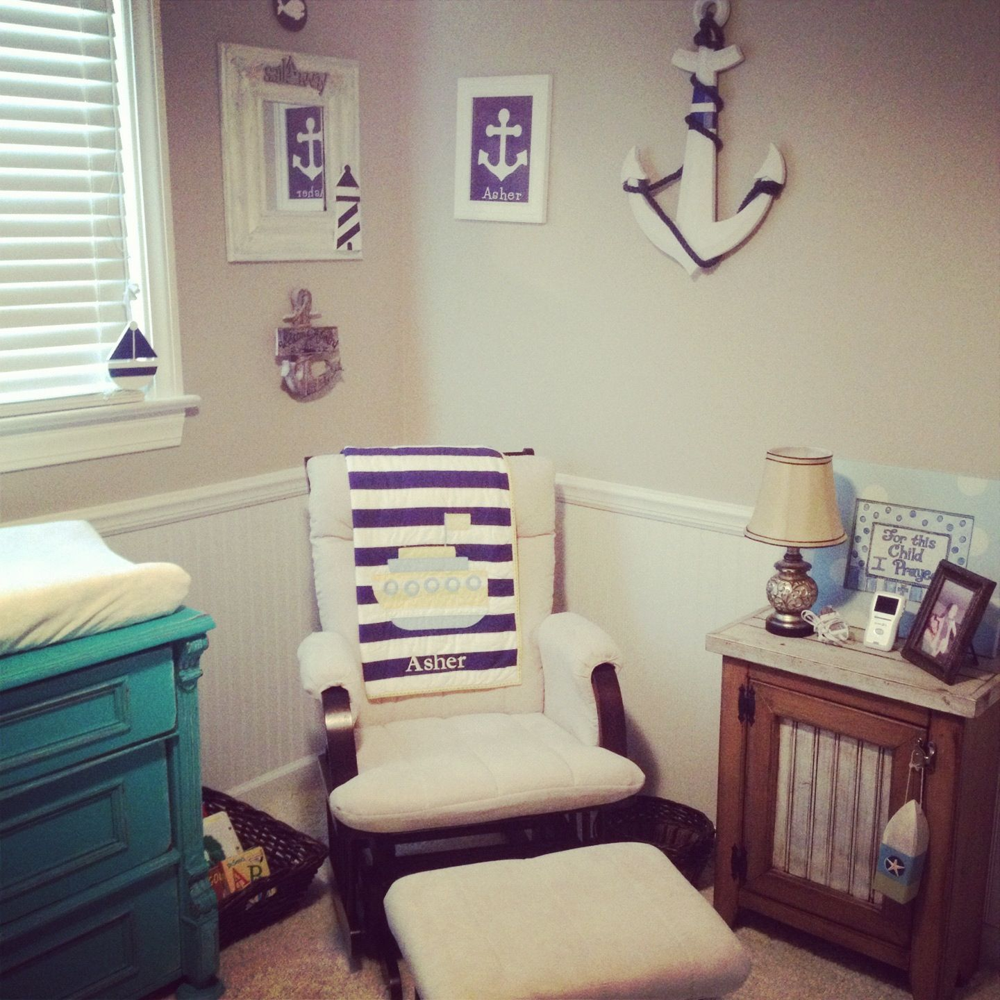 Nautical Nursery Via Accents, Not Wall Colors (With Images