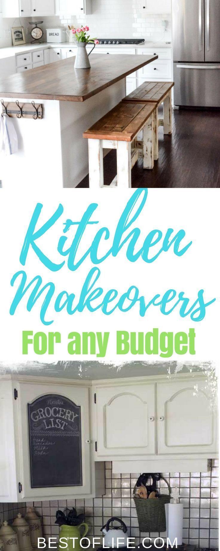 DIY Kitchen Makeover Ideas for any Budget | Pinterest | Diy kitchen ...