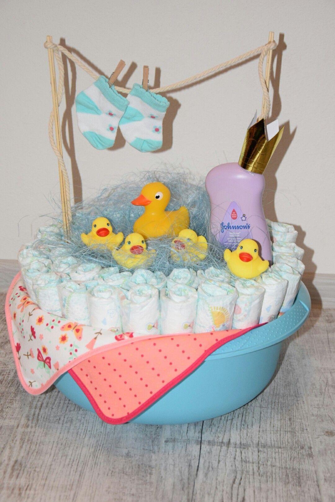 Photo of Very cute diaper basket idea