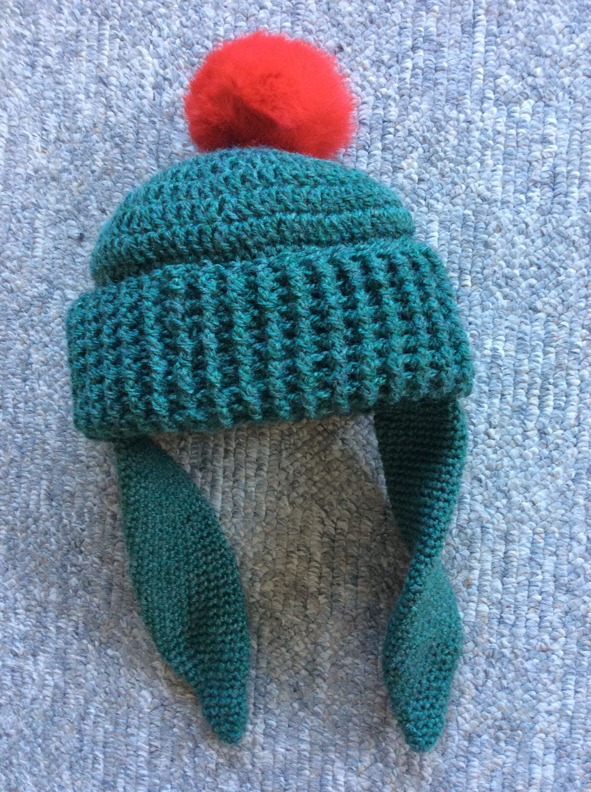 My version of a toddler size Benjamin Bunny beanie  7909c3dcf99