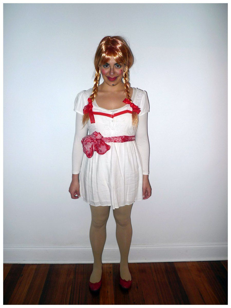 annabelle doll halloween costume theme me the ultimate costume blog