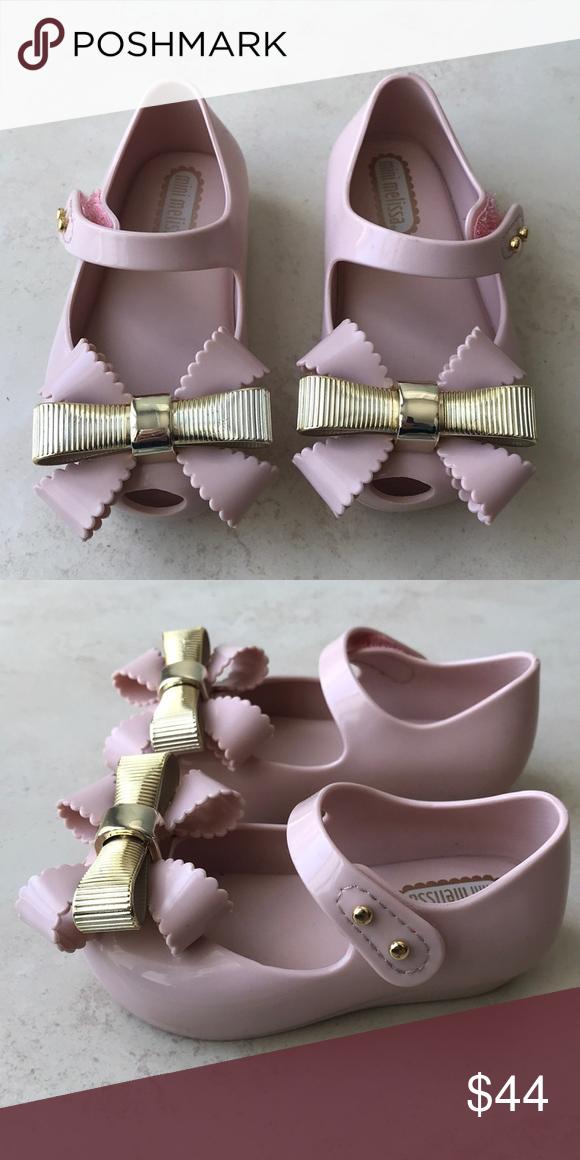 eeca82fb0320 Mini Melissa Ultragirl Sweet IV- Light Pink Size 5 Brand new