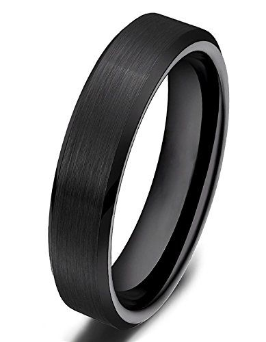 Ceramic Ring Cz Ring Black Wedding Band Ceramic Wedding Band 8mm In 2020 Ceramic Wedding Bands Ceramic Wedding Ring Black Ceramic Ring
