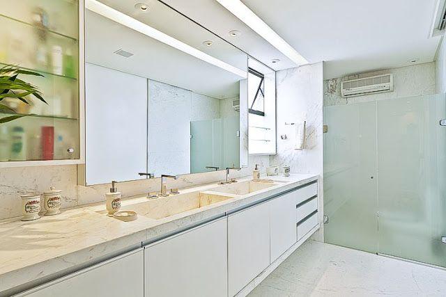 Banheiros com áreas íntimas (vaso e chuveiro) separadas! Veja modelos e dicas! - Decor Salteado - Blog de Decoração e Arquitetura
