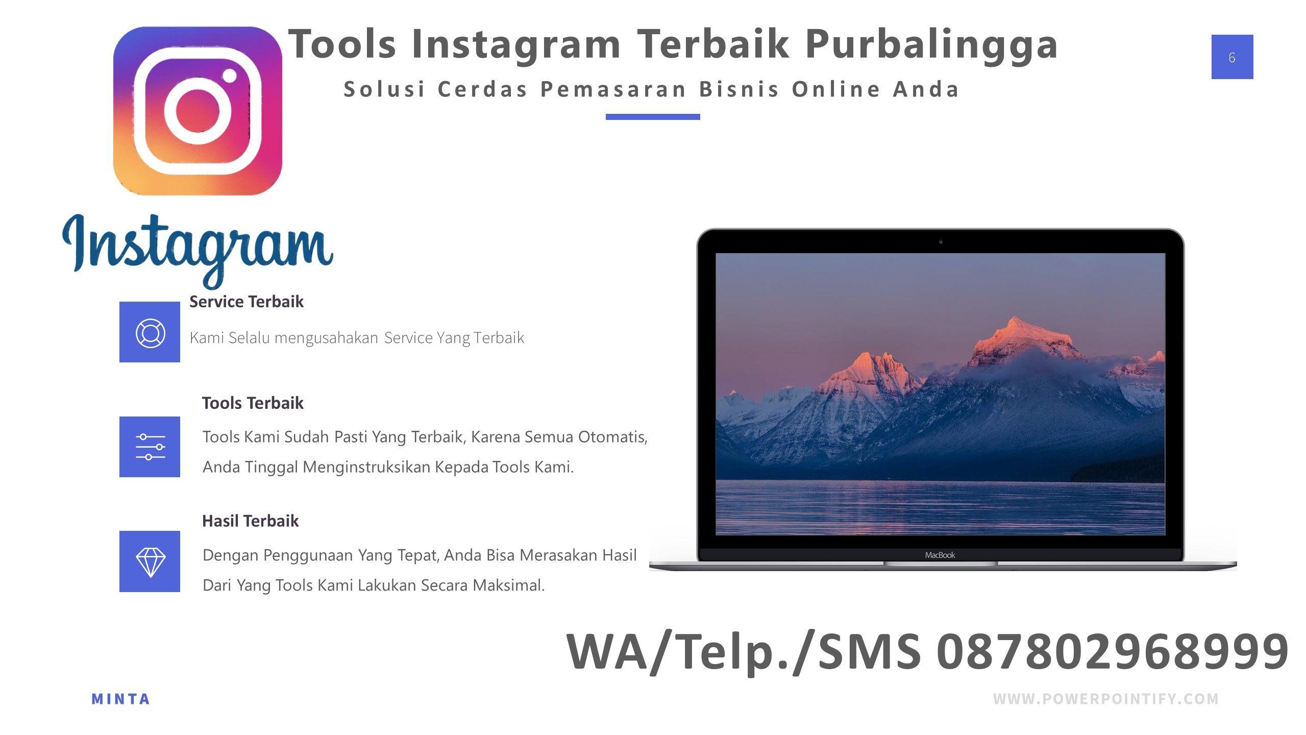 Terbaik Tools Instagram Terbaik Purbalingga Wa Telp Sms 087802968999 Instagram Tahu Pemasaran Bisnis