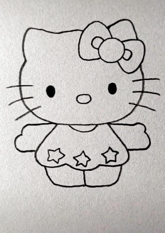Kitten Drawing Easy Animales Faciles De Dibujar Dibujos Faciles Para Ninos Dibujos Faciles