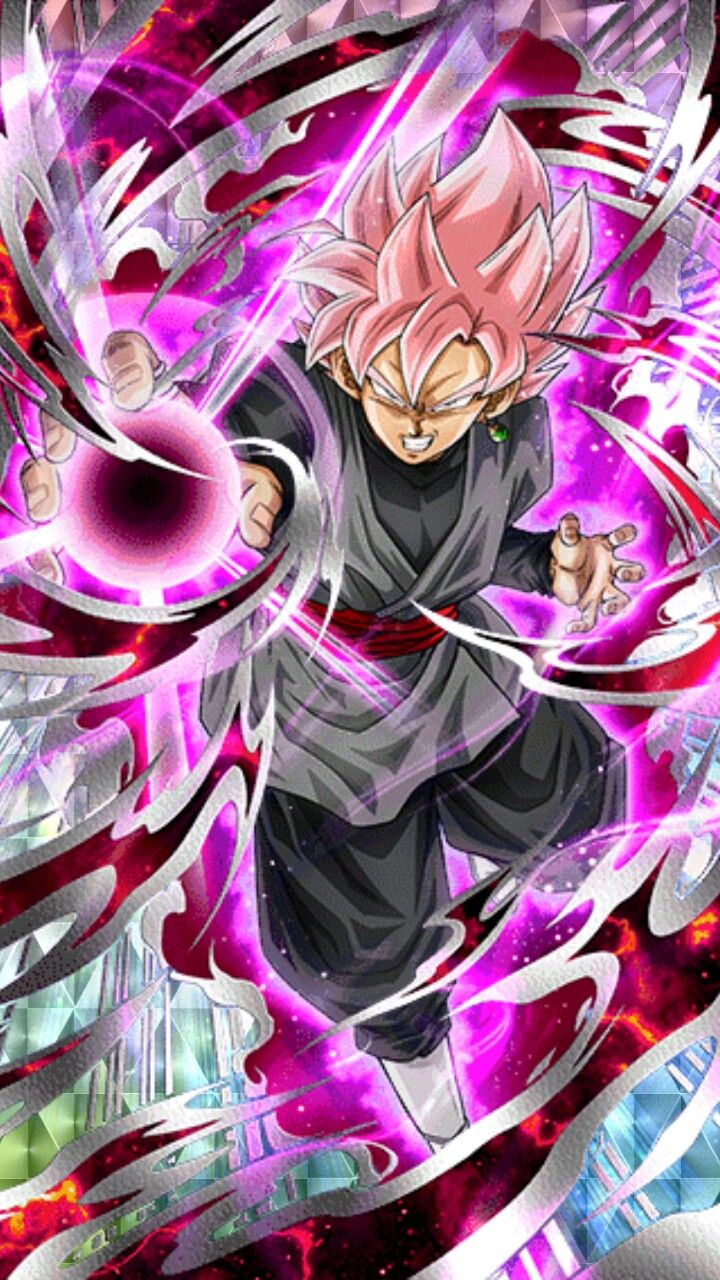 Rose Stained Super Saiyan Super Saiyan Rose Black Goku Dragon Ball Z Dokkan Battle Anime Dragon Ball Super Anime Dragon Ball Dragon Ball Super Goku
