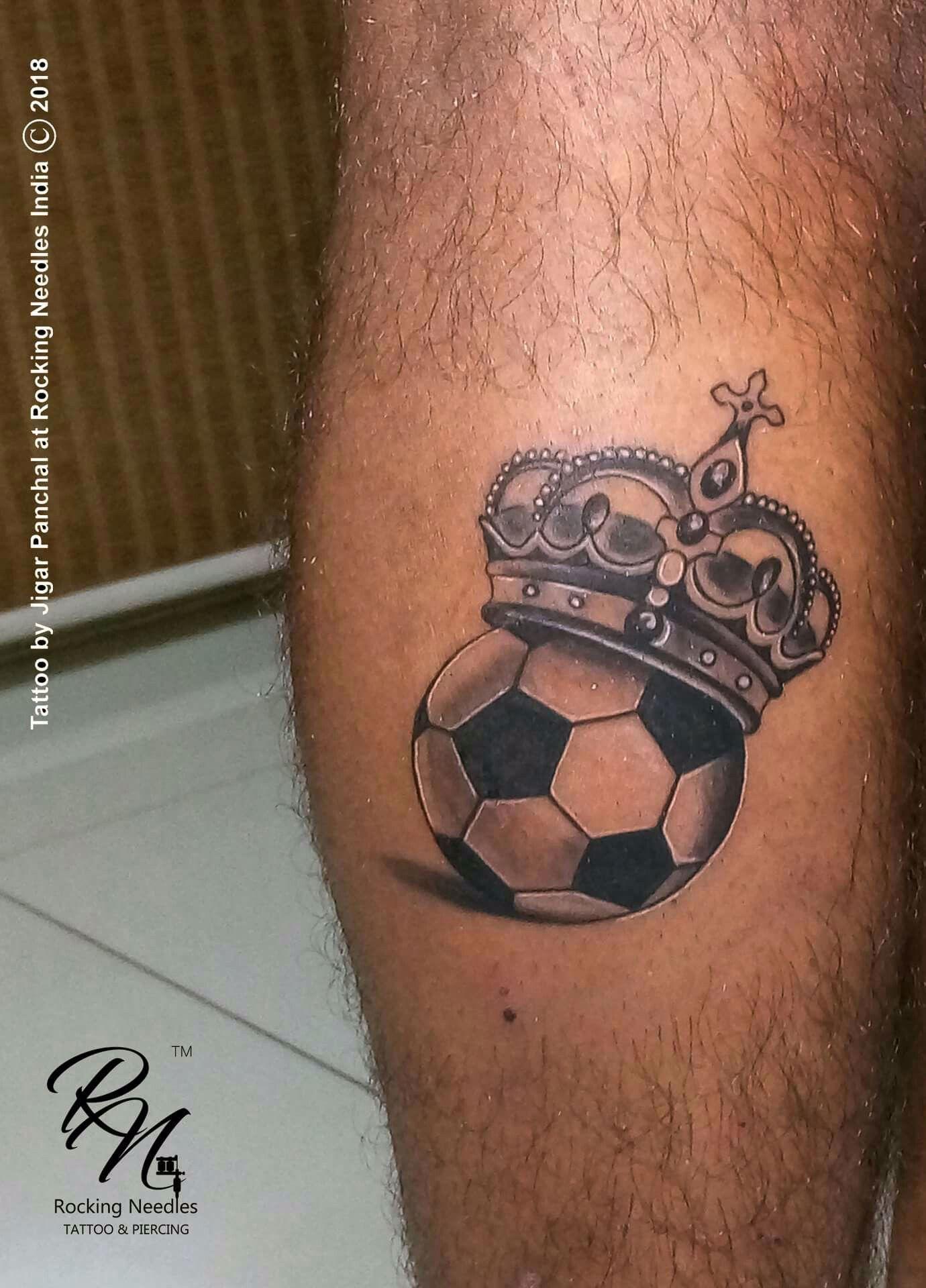 Football Tattoo Football Tattoo Soccer Tattoos Small Tattoos