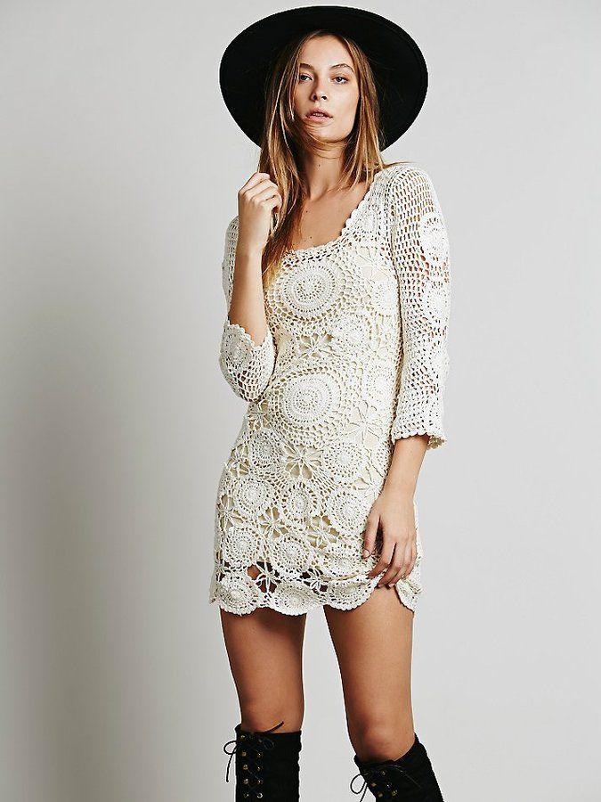 Shopstyle Crochet Mini Dress Crochet Dress Crochet Fashion