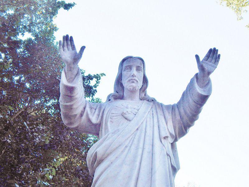 Jesus in menlo park