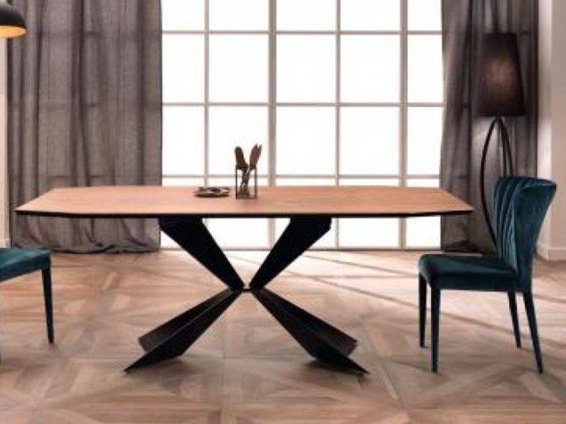 Tavolo rovere e metallo designe 2017 Design, Idee per