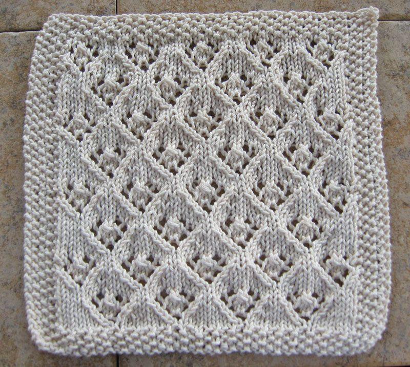 knitted dishcloth | Mimi\'s knits | Pinterest | Tejido, Colchas ...