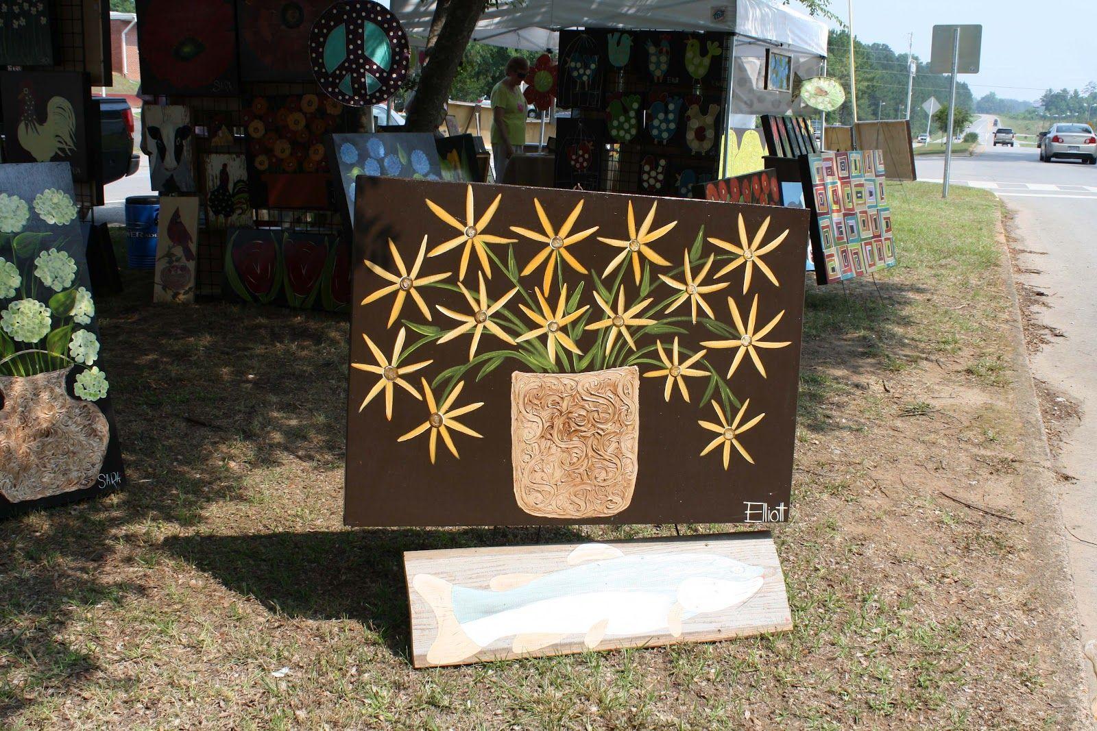 Art on the Median: Art Show in Downtown Wedowee June 9th ~ Lake Wedowee Life Magazine