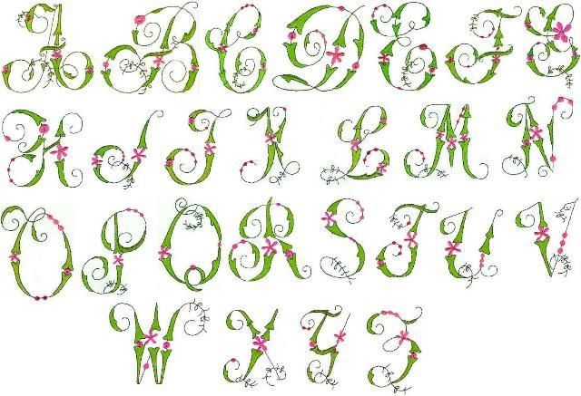 Fancy Letters Alphabet Posted On Sunday July Th  At