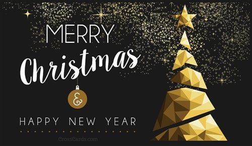 Merry Christmas And Happy New Year Merry Christmas And Happy New Year Christmas Card Template Happy New Year Greetings