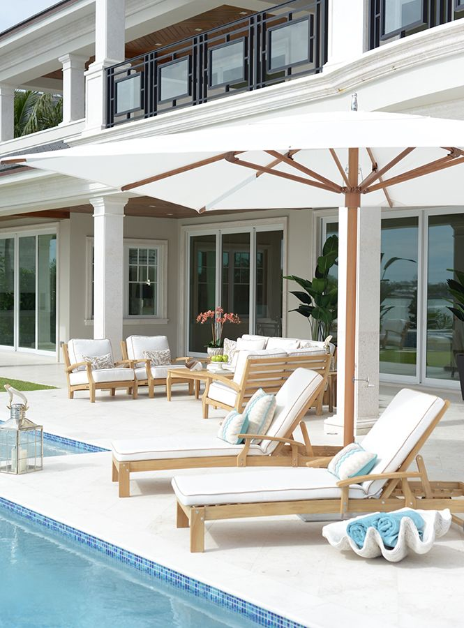 Comfortable And Stylish Design Is Reminiscent Of The Ocean. This Outdoor  Furniture Collection Features Multiple Outdoor ...