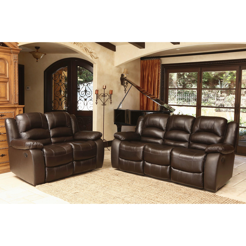 Jovi Living Room Reclining Sofa & Loveseat Living