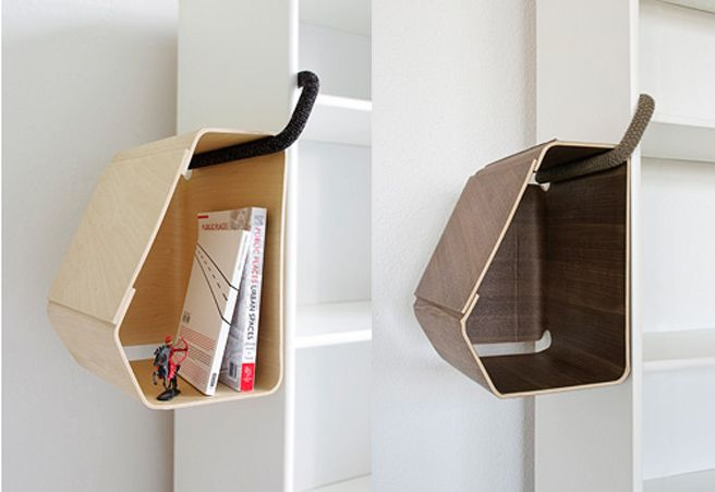 Love this 'little bit of extra storage' system