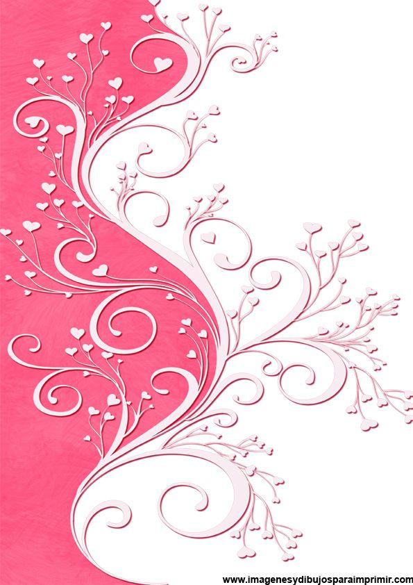 Hojas De Papel Estampadas Para Imprimir Buscar Con Google Papel De Color Rosa Papel De Colores Sobres De Papel