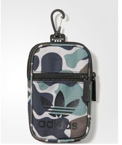 5ac935d32d5d ... Black CF6842  new concept 3a796 20e15 adidas Originals Festival Bag  Trefoil Sport Casual Unisex Backpack Travel BQ6077 adidas ...