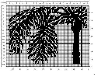 Crochet Geek Filet Crochet Palm Tree Crochet Geek Crochet Patterns Filet Filet Crochet