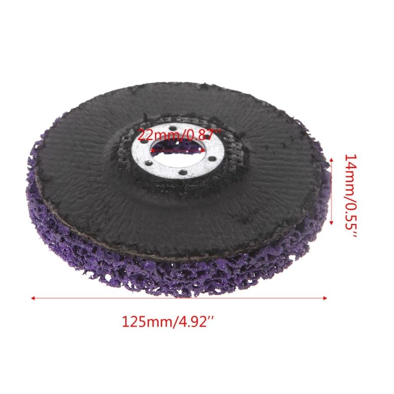 125mm Poly Strip Disc Abrasive Wheel Paint Rust Removal Clean For Angle Grinder 125mm Poly Strip Disc Ab Angle Grinder Abrasive Wheels How To Remove Rust