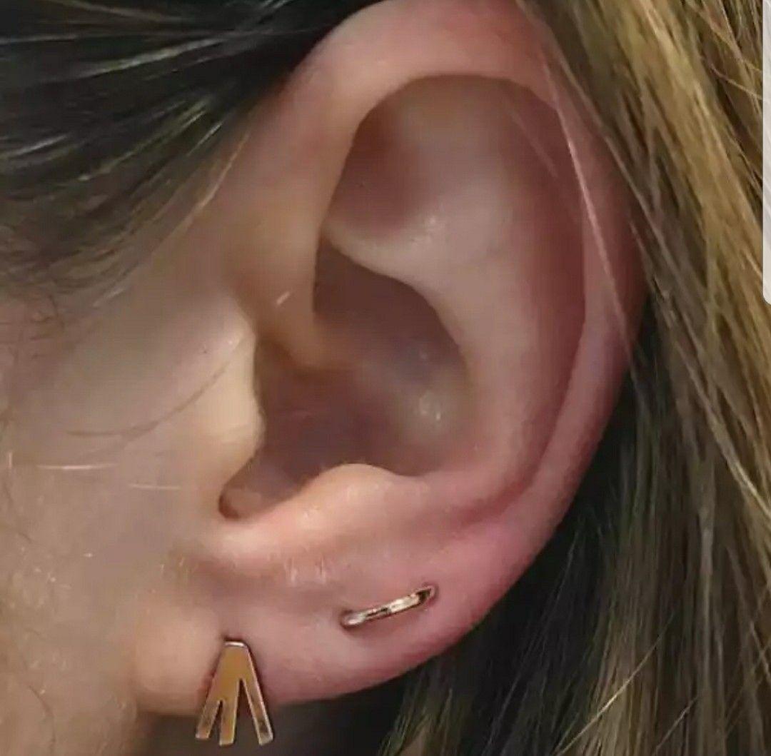 Second ear piercing ideas  Pin by ev on Idées de piercing  Pinterest  Piercings Ear