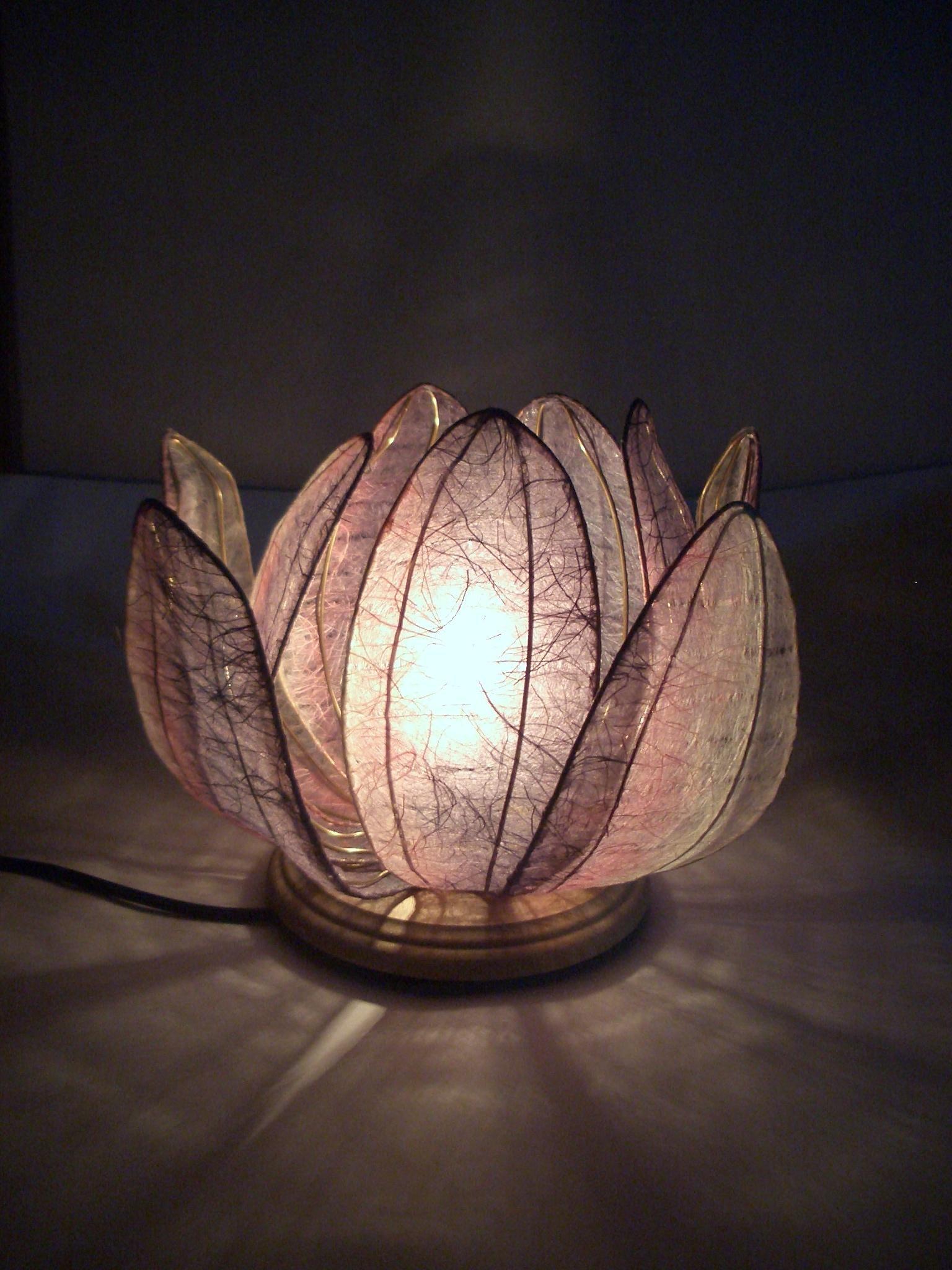 DIY This Japanese Paper Lotus Lantern In
