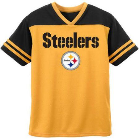 best sneakers 243a5 ef987 NFL Pittsburgh Steelers Toddler Short Sleeve Fashion Top ...