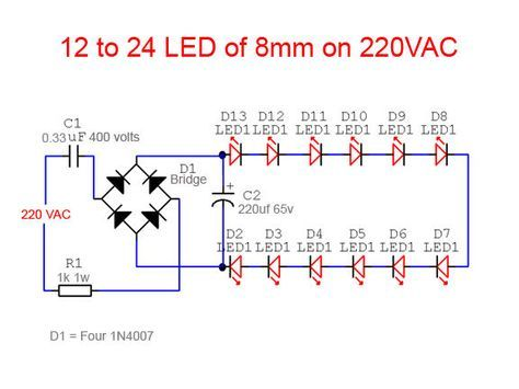 led tube light circuit diagram electronic circuit projects simple led tube light ac electric led led tubes circuit led tube light circuit diagram electronic circuit projects