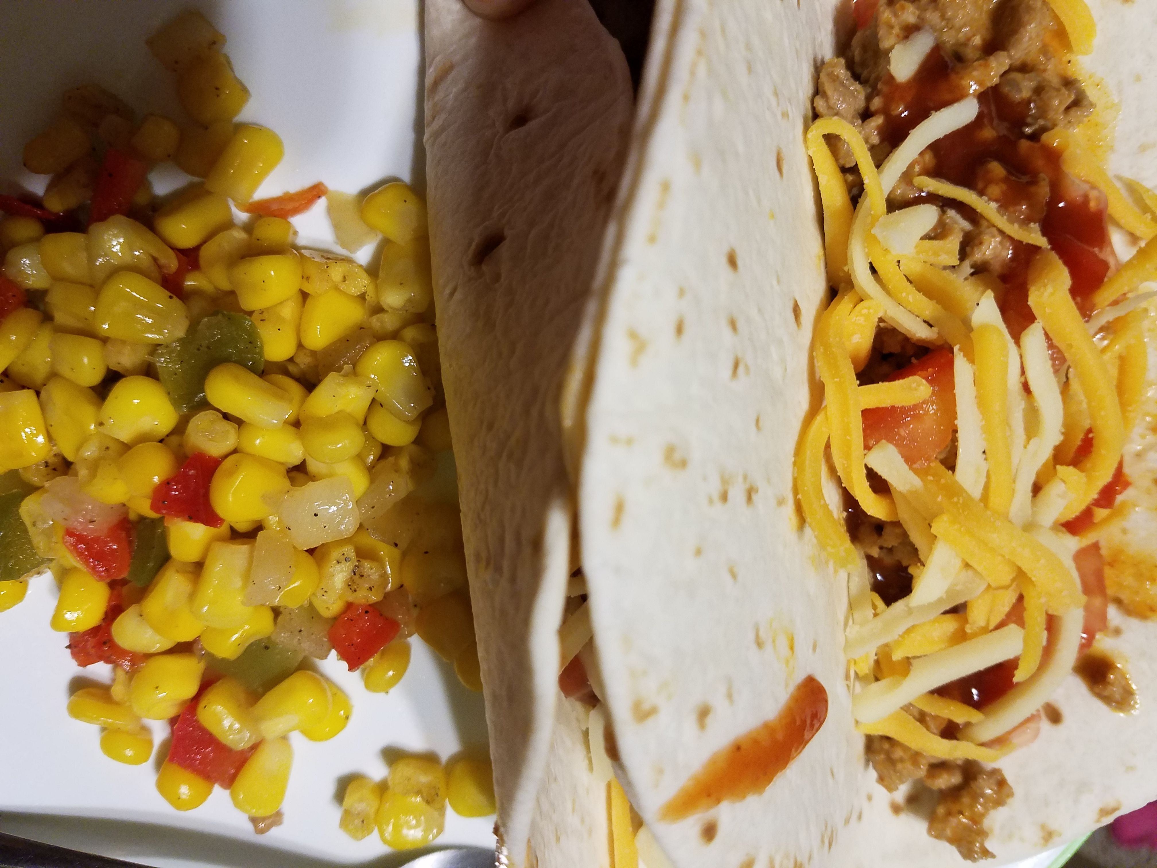 Go Veggie cheese alternatives are great with homemade soft tacos #GoVeggie #GotItFree