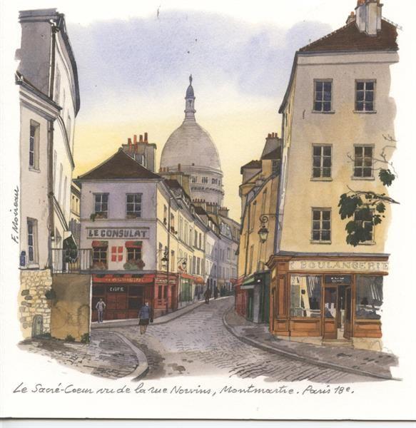 Le Sacre Cœur Montmartre Paris 18eme Fabrice Moireau