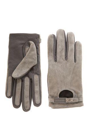 58746bf5287ff Logo Driving Glove - Accessories Shop - Womens - Armani Exchange ...