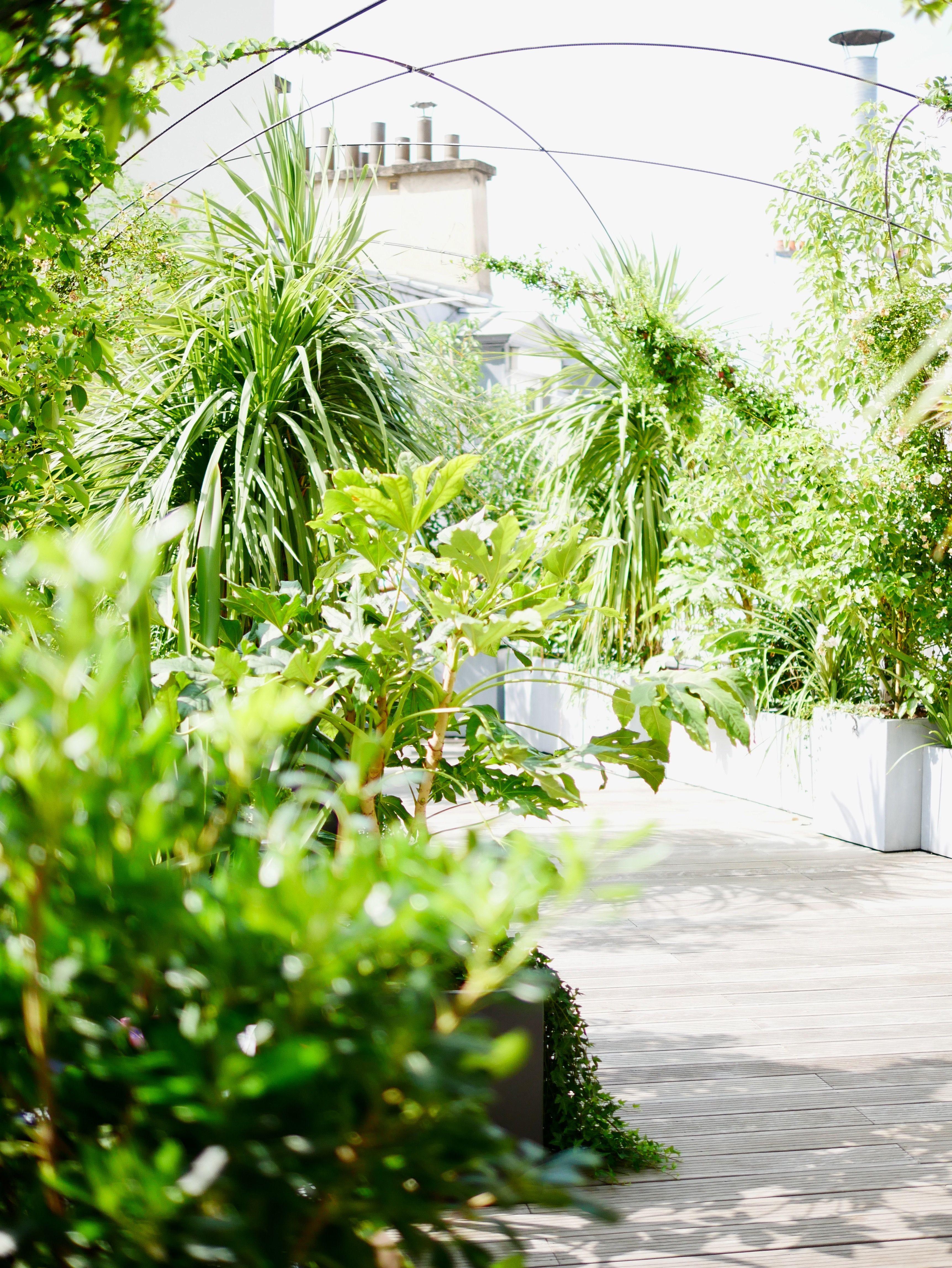 gardens; terraces; offices; corporate headquarters; Paris; bureaux ...