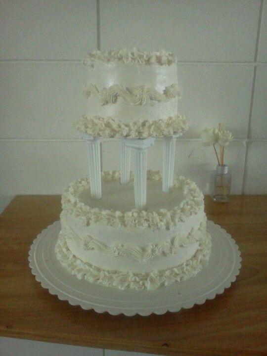 Wedding Cake Simple But Elegant