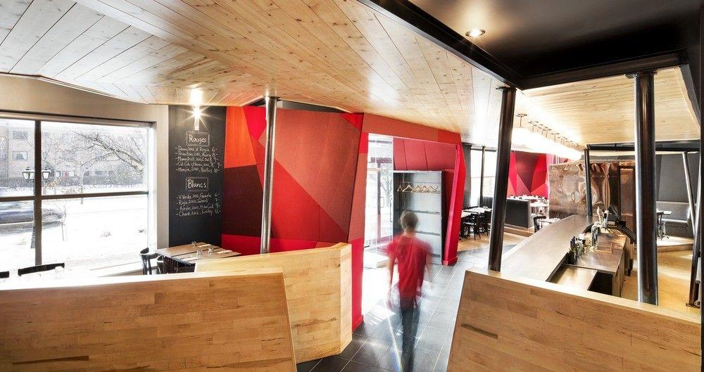 Gallery of Chez Carl / Jean De Lessard 1 Interior