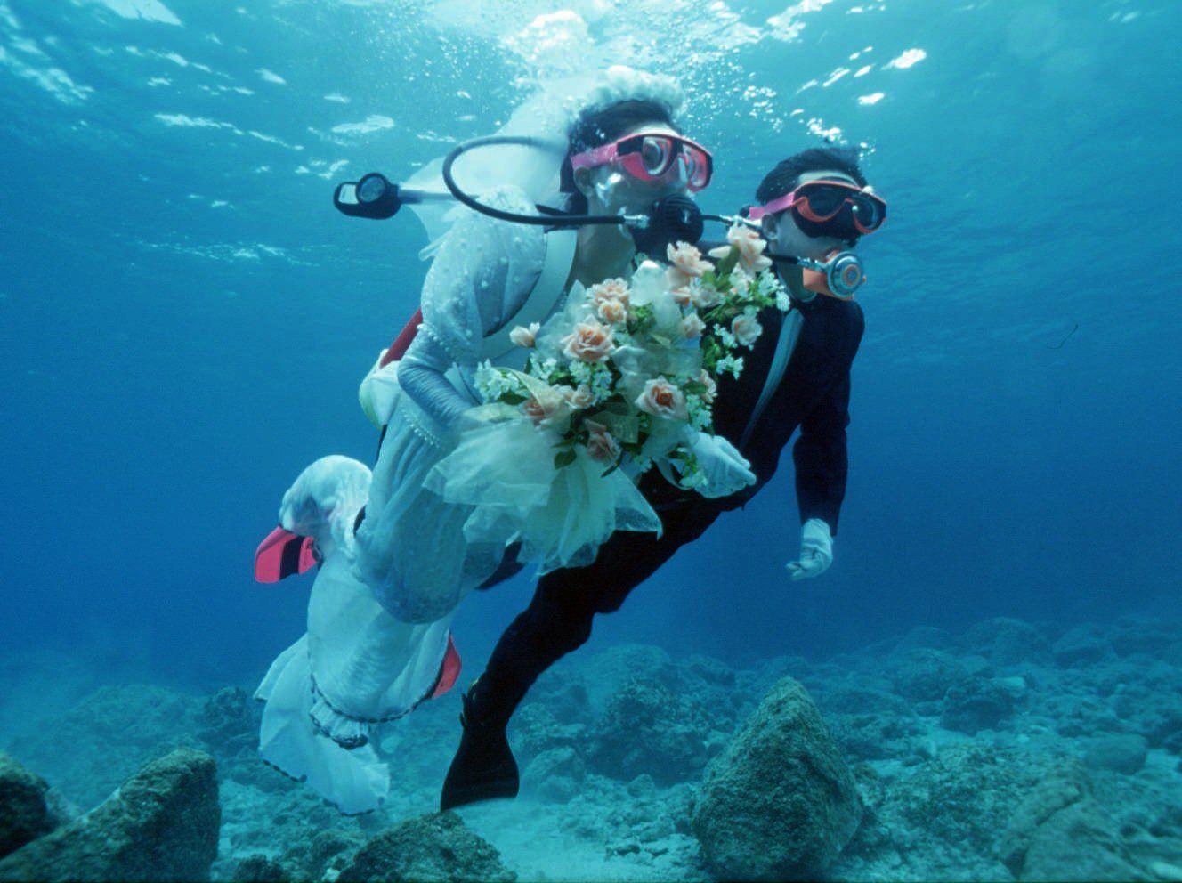 Wedding Inspiration Bouquets Underwater Wedding Wedding Inspiration Wedding