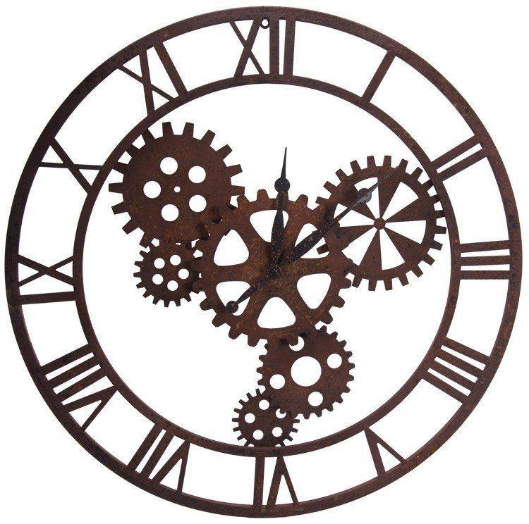 Decorative Wall Clock Fun  Skull tattoo Printed Acryl Acrylglass