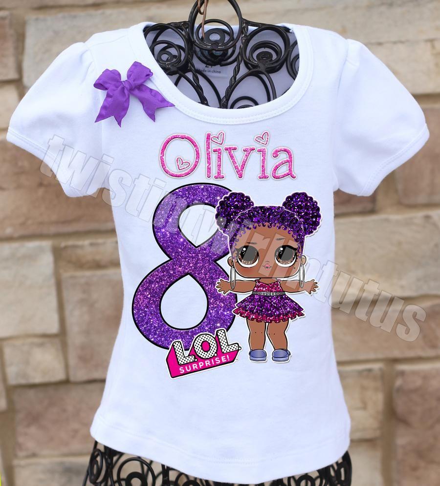 LOL Surprise Birthday Shirt Birthday shirts, Birthday