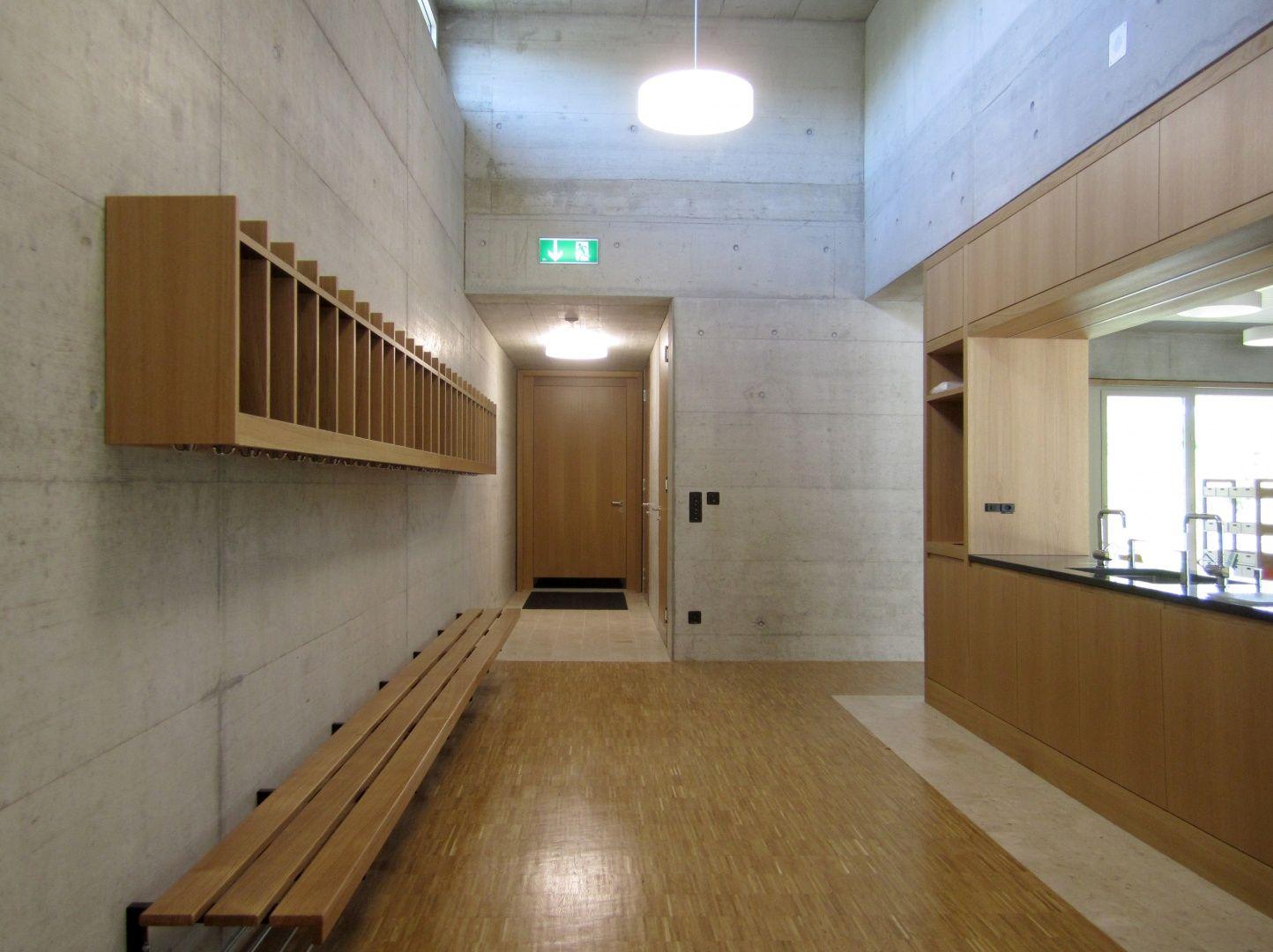 Innenarchitektur Eglisau erweiterung schulanlage steinboden eglisau schweizer