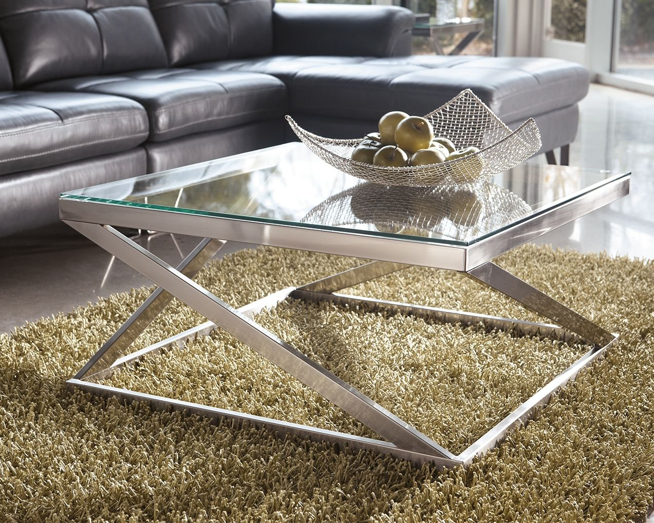Coylin Coffee Table Ashley Furniture Homestore Coffee Table Square Contemporary Coffee Table Square Cocktail Table [ 1018 x 1273 Pixel ]