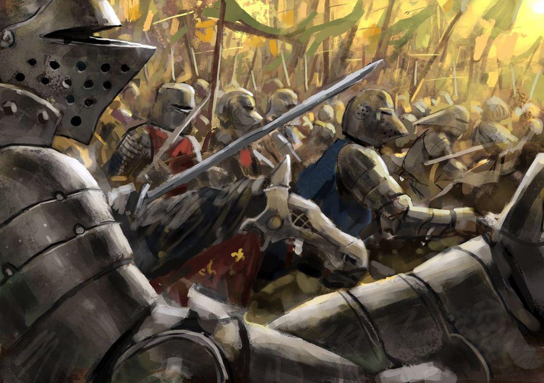 картинки на тему средневековых сражений и фэнтези показать всем
