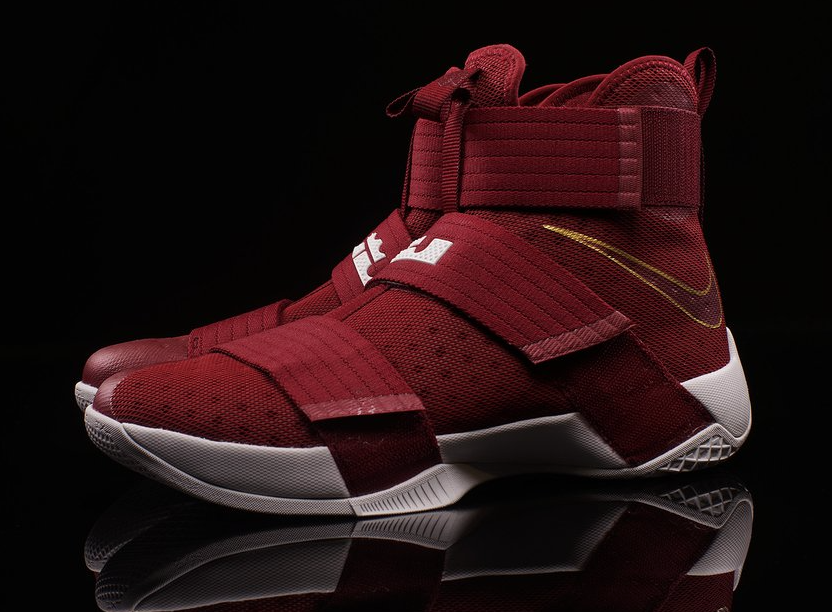 premium selection 5713d cbcce Another Look At The Nike LeBron Zoom Soldier 10 Christ The King