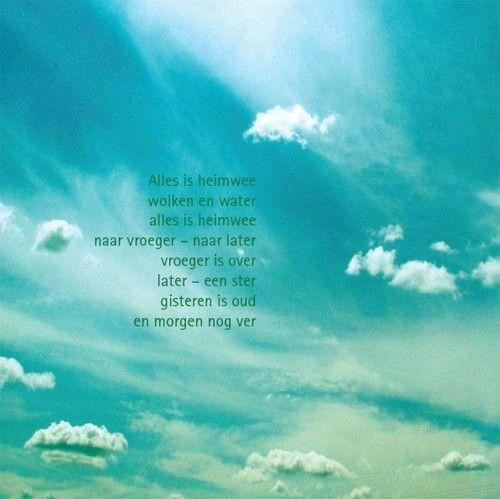 Citaten Over Water : Heimwee toon hermans mooie gedichten en illustraties