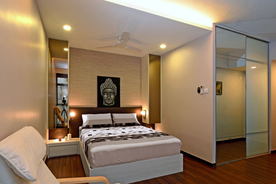 Interior Designs For Bedrooms Indian Style New Cozy Modern Home In Singapore Developed For An Indian Couple Design Ideas