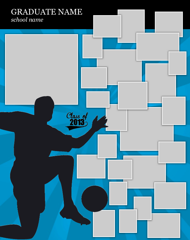 Soccer Poster Template. Use our FREE software to create a poster for ...