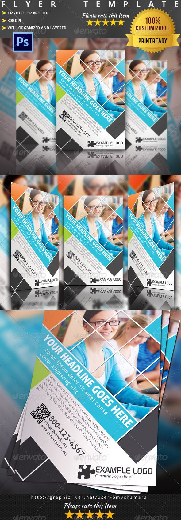education flyer fully editable promotional flyer template class edu education flyer handbill pampas poster psd school student template tuition