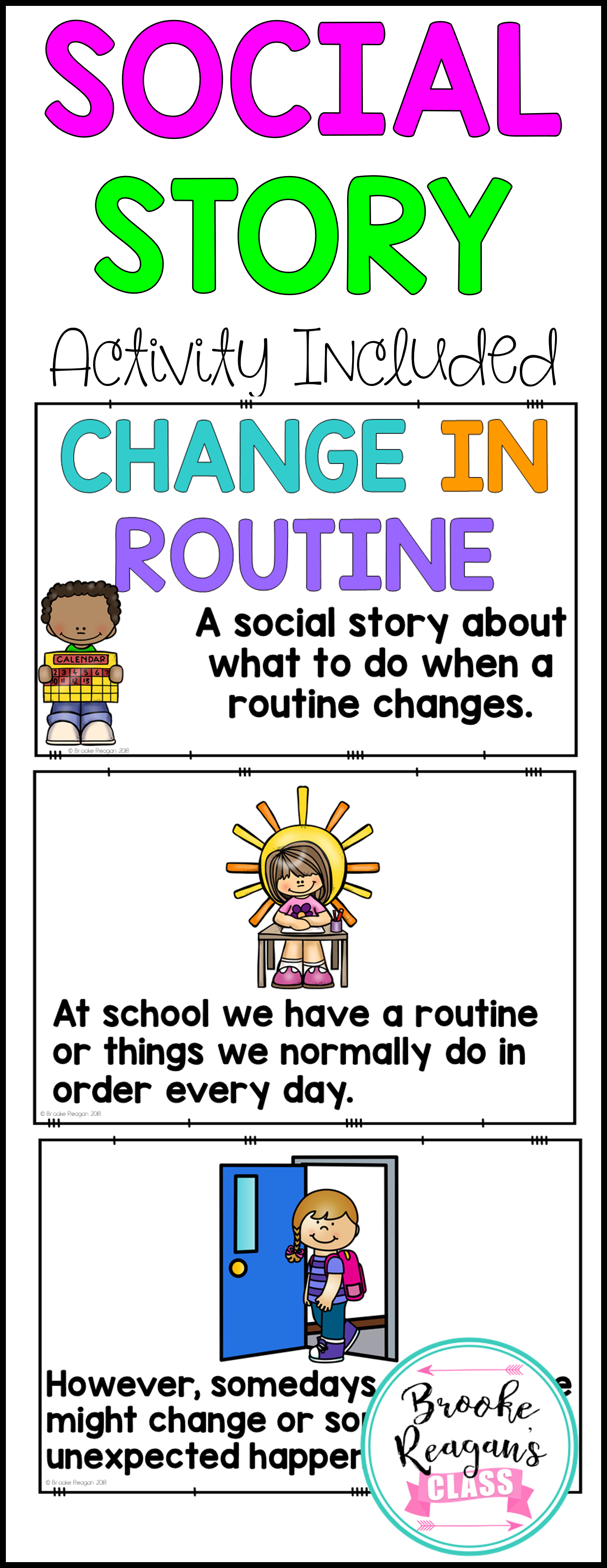 Social Story Change In Routine