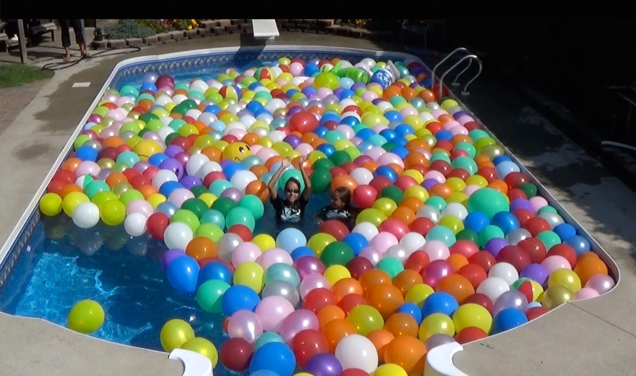 fill a swimming pool